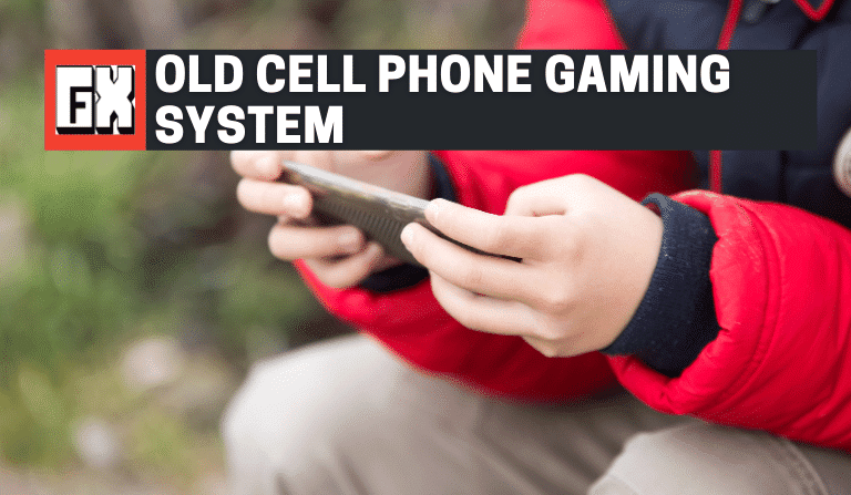 Old Cell Phone Gaming System