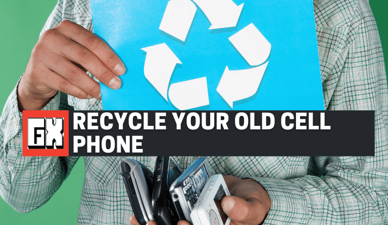 Recycle Your Old Cell Phone Or Sell For Extra Cash