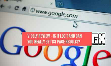 Videly Review – Is It legit and can you really get 1st page results?