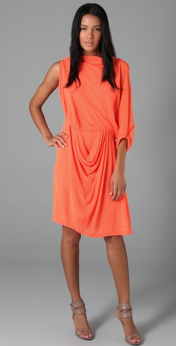 Willow Asymmetrical Draped Dress