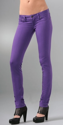 Purple Jeans...I will be aquiring a pair...