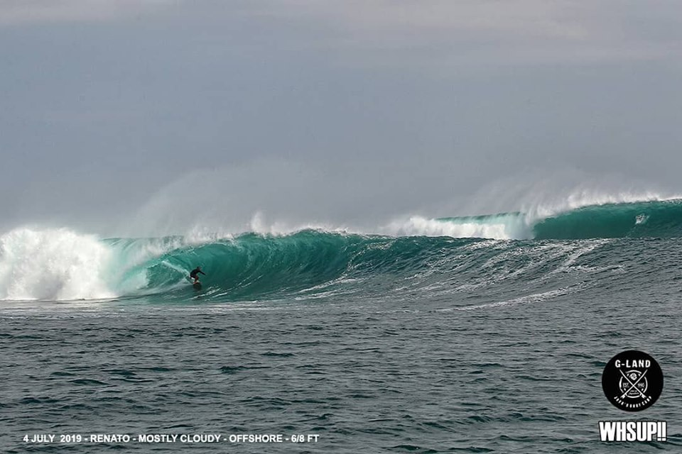 G-land Daily Surf Report 4 & 5 July 2019