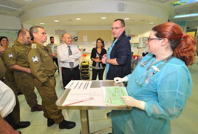 צילום: דוברות המרכז הרפואי לגליל.