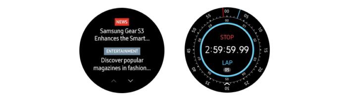 מצטיין סמסונג משחררת עדכון חדש לשעונים החכמים Gear 2 ו-Gear 3 - ג'ירפה AJ-41