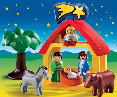 Playmobil Christmas Manger scene play set