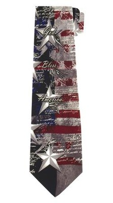 God Bless America Tie   -