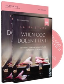 When God Doesn't Fix It Study Guide with DVD  -     By: Laura Story