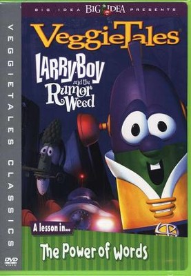 Larryboy and the Rumor Weed, VeggieTales DVD   -