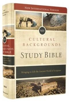 NIV Cultural Backgrounds Study Bible, Hardcover - By: Craig Keener, John Walton