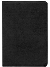 KJV Life in the Spirit Study Bible, Top Grain Leather, Black,  Thumb-Indexed (Previously titled The Full Life Study Bible)