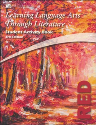 Learning Language Arts Through Literature, Grade 2, Student  Activity Book (Red; 3rd Edition)  -