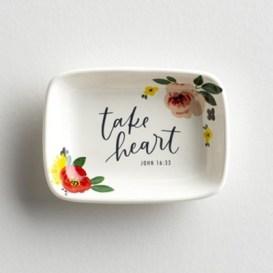 Take Heart Trinket Dish  -
