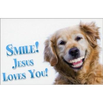 Smile Jesus Loves You Post cards
