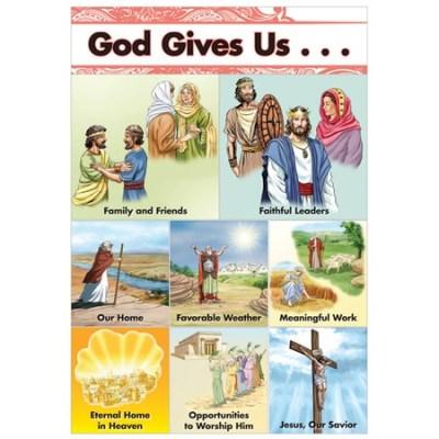 Sunday school bulletin board set