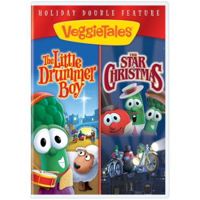 VeggieTales Christian Christmas cartoons double set
