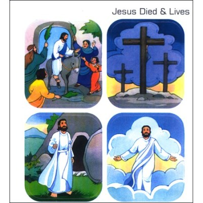 Religious Easter Jesus Stickers