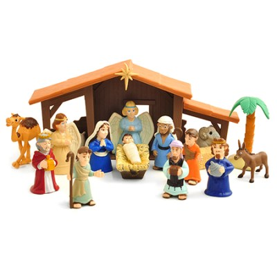 Nativity set for a child
