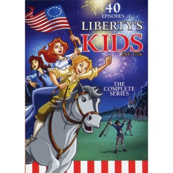 Liberty Kids Cartoon DVD Series