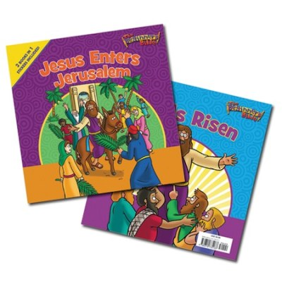 Jesus Enters Jerusalem and He Is Risen books for kids