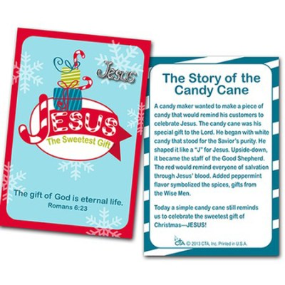 Legend of the Candy Cane carded pins