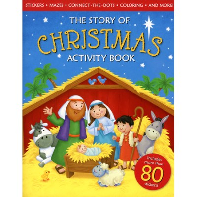 Bible Story of Christmas Activity Book
