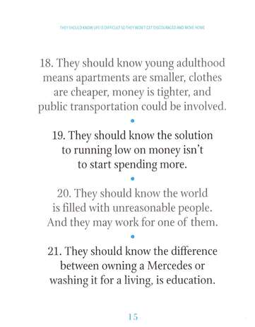 1,001 Things Every Teen Should Know Before They Leave Home