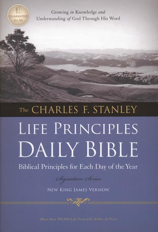 NKJV Charles F. Stanley Life Principles Daily Bible