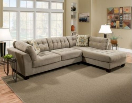 Sears Ca One Day 1000 Vera 2 Piece Sectional Sofa Was : sears sectional sofa bed - Sectionals, Sofas & Couches