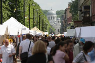 Šventinė diena Kauno mieste