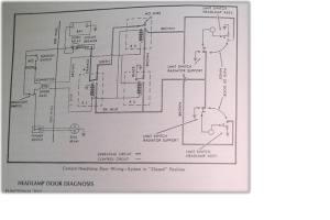 `67 RS headlight wiring diagram  Team Camaro Tech