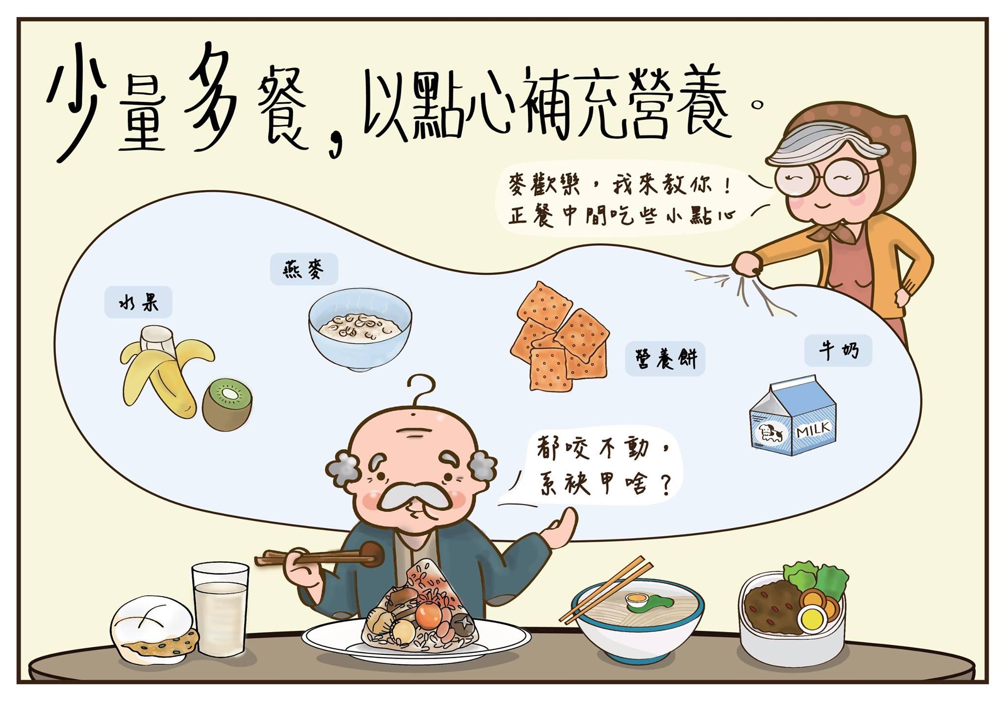 銀髮族飲食原則之『少量多餐』 - 家有一老如有一寶 - udn部落格
