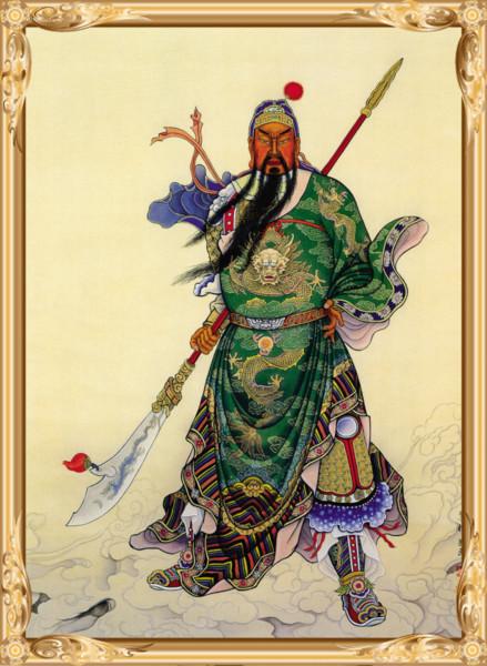 農曆六月廿四日為關聖帝君聖誕。