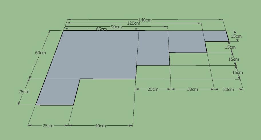 3dsMax自學筆記(13) 用SketchUP輕鬆畫簡易平面圖並標示尺寸 - 包研院 - udn部落格