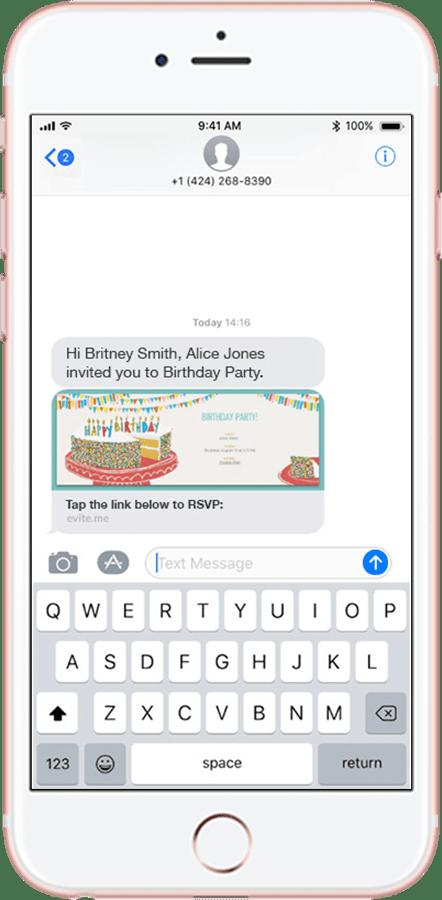 Birthday Invitations Text