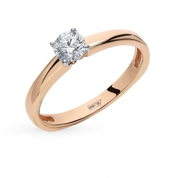 Кольцо SUNLIGHT «Бриллианты Якутии»: бриллиант — купить в ...