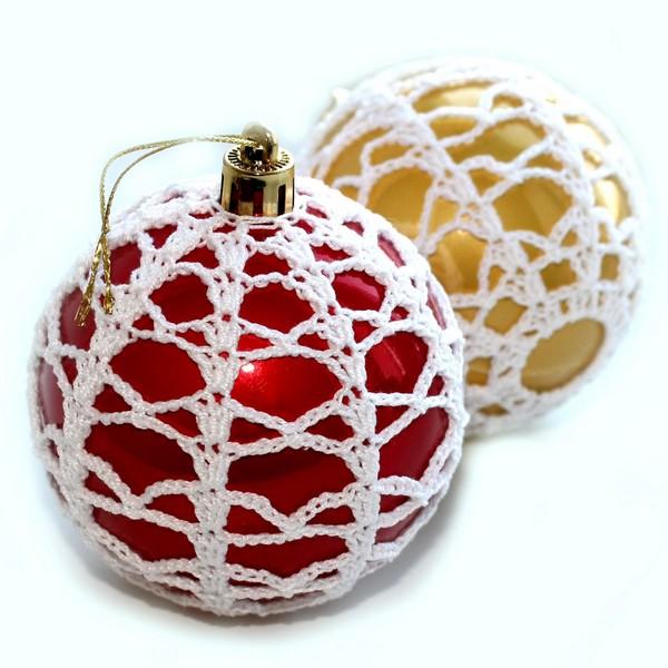 Как сделать новогодний шар на елку своими руками ...