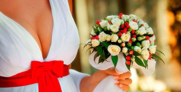 Свадебный букет невесты из живых цветов своими руками ...