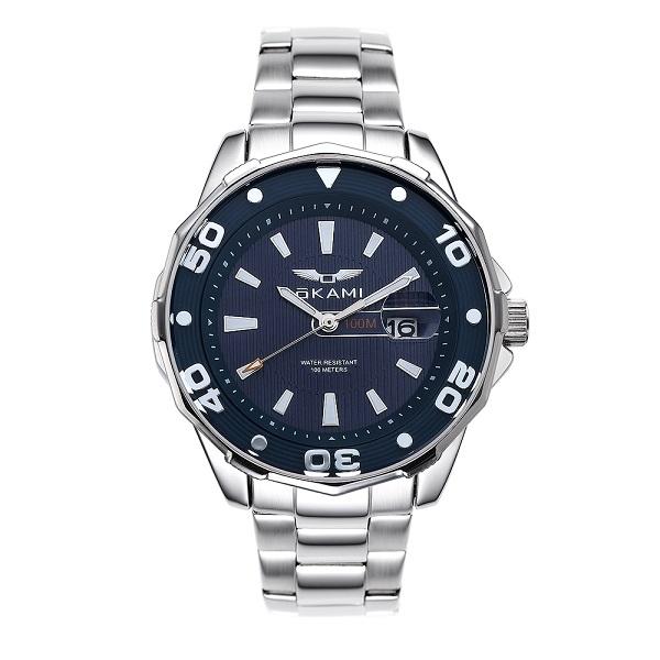 Спортивные мужские часы на металлическом браслете