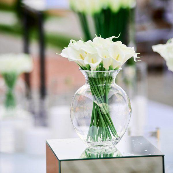 Blumenstrauß an der Hochzeit