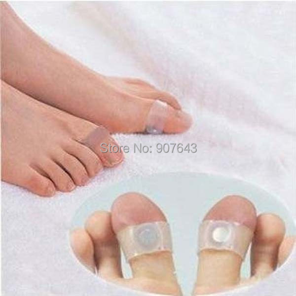 Guaranteed New Magnetic soft Silicon Foot Massage Toe Ring slimming Weight Loss Slimming Easy&Healthy