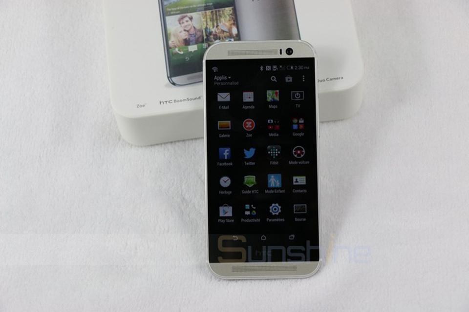 מקורי HTC one M8 טלפון נייד 5