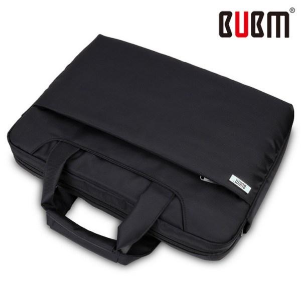 Free shipping BUBM nylon black pink laptop bag for men ...