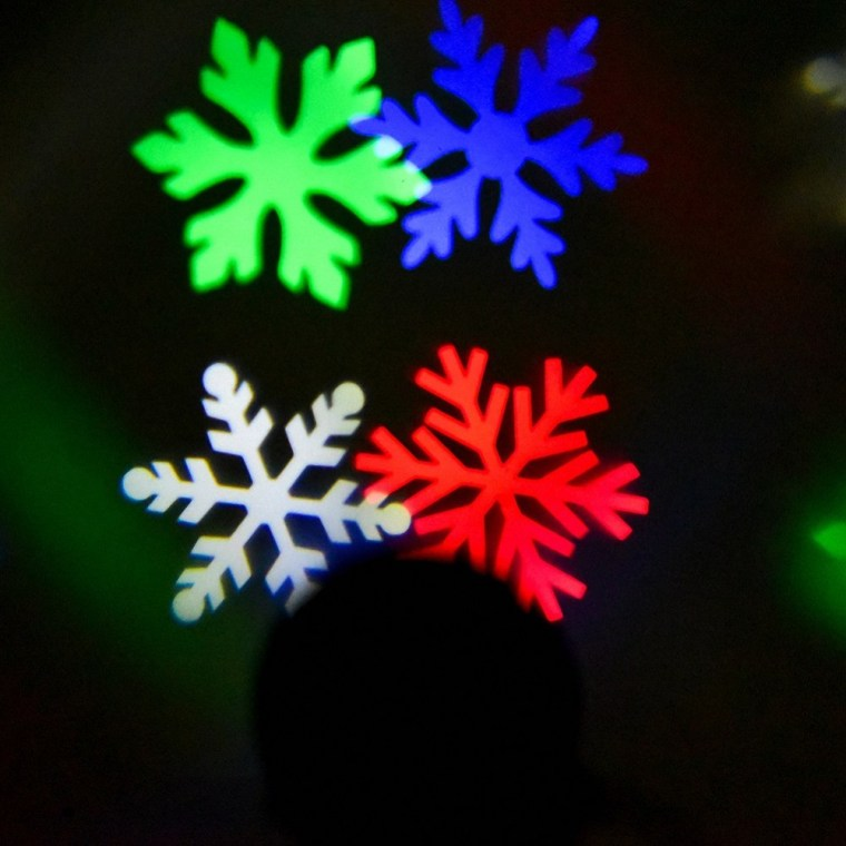 snowflake projector 3