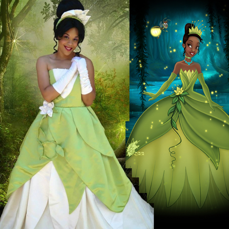 sc 1 st  Picture Lights & Princess Tiana Adult Costume