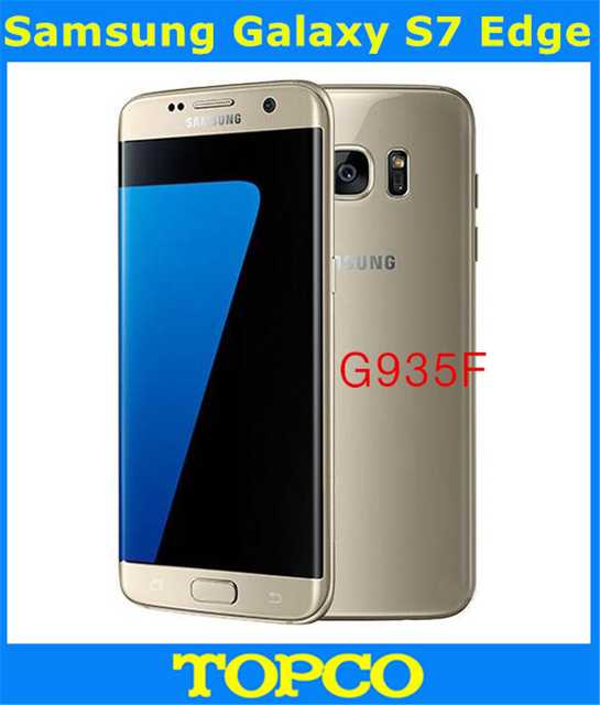 "Samsung Galaxy S7 Edge G935F Original Unlocked 4G LTE Android Mobile Phone Octa Core 5.5"" 12MP RAM 4GB ROM 32GB Dropshipping"