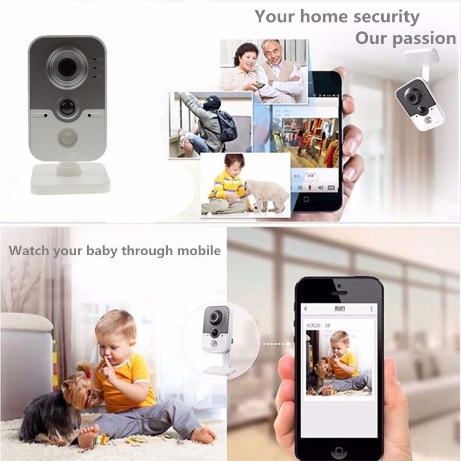 English Model HIK WiFi Digicam DS-2CD2420F-IW 1080P Wi-Fi Dwelling Safety Digicam 2MP IR Dice Community CCTV Cam Child OEM IPC3412-W HTB15dlxKpXXXXaPXVXXq6xXFXXXU