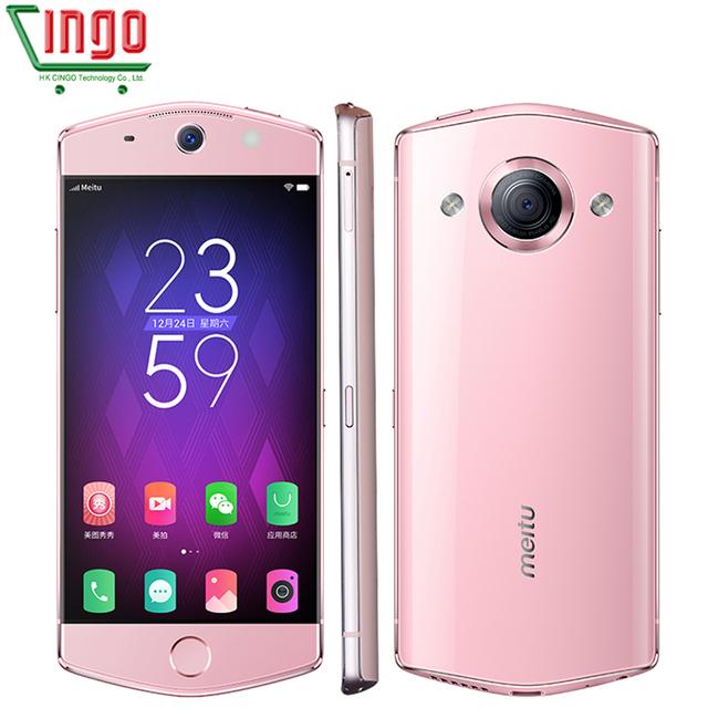 Original Meitu M6 4G RAM 64GB ROM 5.0 inch Android 6.0 Smartphone MT6755 Octa Core 2.0 GHz 4G LTE Network 21MP Camera 2900mAh