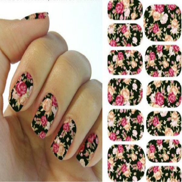 3d Acrylic Rose Flower Nail Art