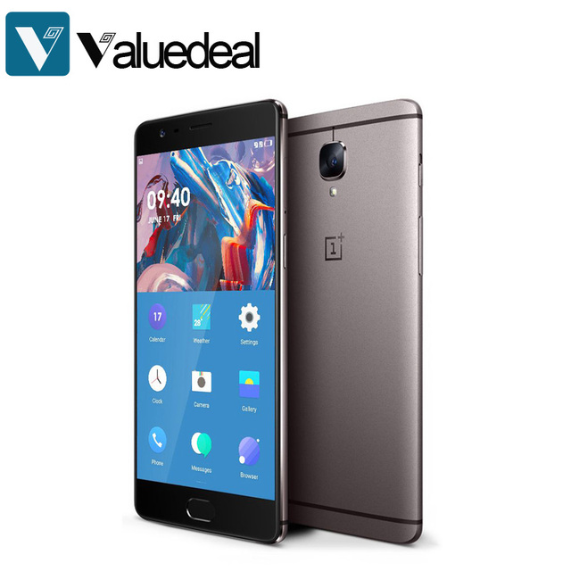 In stock ONEPLUS 3T A3003 International version 5.5inch FHD Android 6.0 OS Snapdragon 821 Smartphone 6GB RAM 64GB ROM 16.0MP