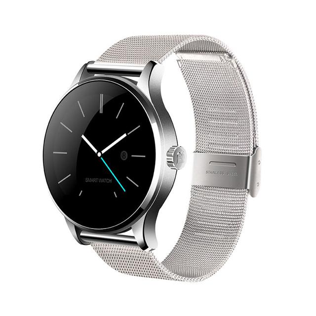 Оригинал K88H Smart Watch Трек MTK2502 Bluetooth Smartwatch Наручные Heart Rate Monitor Шагомер Набора Для Android IOS